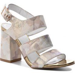 Sandały damskie: Sandały R.POLAŃSKI – 0868 Moro Beż