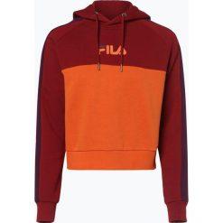 FILA - Damska bluza nierozpinana – Landers, lila. Czerwone bluzy damskie Fila, m, z krótkim rękawem, krótkie. Za 349,95 zł.
