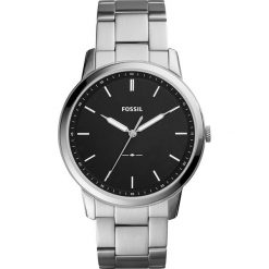 Zegarek FOSSIL - The Minimalist 3H FS5307 Silver/Black. Różowe zegarki męskie marki Fossil, szklane. Za 569,00 zł.