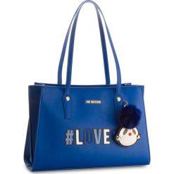 Torebka LOVE MOSCHINO - JC4070PP16LK0500 Blu. Niebieskie torebki klasyczne damskie marki Love Moschino, ze skóry ekologicznej. W wyprzedaży za 729,00 zł.