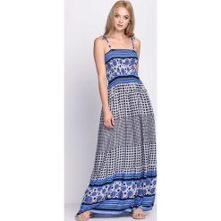 Sukienki: Niebieska Sukienka Retrograde