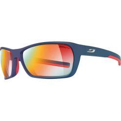 """Okulary przeciwsłoneczne """"Blast"""" w kolorze granatowym ze wzorem. Brązowe okulary przeciwsłoneczne damskie marki Triwa, z tworzywa sztucznego. W wyprzedaży za 345,95 zł."""