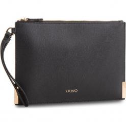 Torebka LIU JO - M Pouch Isola A68183 E0087 Nero 22222. Czarne torebki klasyczne damskie Liu Jo, ze skóry ekologicznej. Za 259,00 zł.