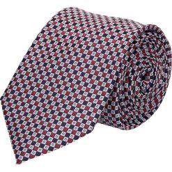 Krawat mikrowzór bordo 100. Szare krawaty męskie Recman. Za 49,00 zł.