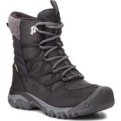 Śniegowce KEEN - Hoodoo III Lace Up 1017728 Black/Magnet. Czarne buty zimowe damskie marki Keen, z materiału. W wyprzedaży za 419,00 zł.