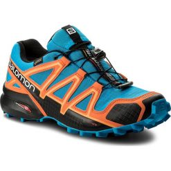 Buty SALOMON - Speedcross 4 Gtx GORE-TEX 401248 30 G0 Hawaiian Surf/Black/Skarlet Ibis. Brązowe buty do biegania męskie Salomon, z gore-texu, salomon speedcross, gore-tex. W wyprzedaży za 469,00 zł.