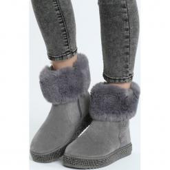 Szare Śniegowce Chop Me Up. Szare buty zimowe damskie marki Born2be, za kostkę. Za 109,99 zł.