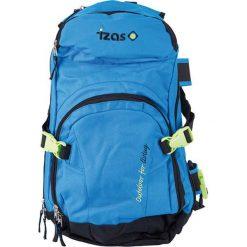 Plecak w kolorze niebieskim - 20 l. Czarne plecaki damskie Izas, w paski, z materiału. W wyprzedaży za 139,95 zł.