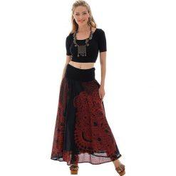 Odzież damska: Spódnica w kolorze czarno-czerwonym