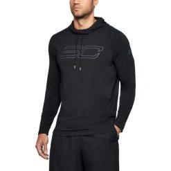 Bluzy męskie: Under Armour Bluza męska  SC30 LS Hooded Tee czarna r. L (1306024-001)
