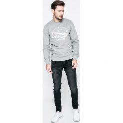 Only & Sons - Jeansy. Czarne jeansy męskie skinny Only & Sons, z aplikacjami, z bawełny. W wyprzedaży za 89,90 zł.