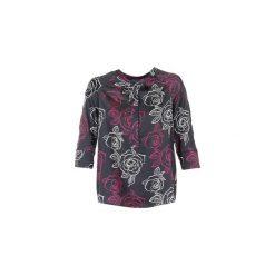 Bluzki Armani jeans  DRENIZ. Czarne bluzki damskie marki Armani Jeans, z jeansu. Za 647,20 zł.