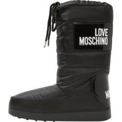 Love Moschino Śniegowce fantasy color. Szare buty zimowe damskie marki Love Moschino, z materiału. Za 579,00 zł.