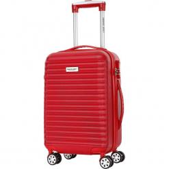 Walizka w kolorze czerwonym - 32 l. Czerwone walizki marki Travel One, z materiału. W wyprzedaży za 179,95 zł.