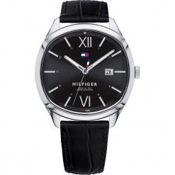 Tommy Hilfiger - Zegarek 1710365. Czarne zegarki męskie marki Fossil, szklane. Za 399,90 zł.