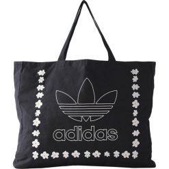 Torba w kolorze czarnym ze wzorem - (S)55 x (W)40 x (G)10 cm. Czarne torby podróżne Adidas, Reebok, z materiału. W wyprzedaży za 197,95 zł.