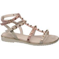 Rzymianki damskie: sandały damskie Catwalk różowe