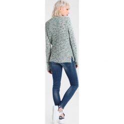 Swetry damskie: Object OBJCHARLOTTE Sweter frosty green