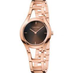 ZEGAREK CALVIN KLEIN CLASS K6R2362K. Brązowe zegarki damskie marki Calvin Klein, szklane. Za 1429,00 zł.
