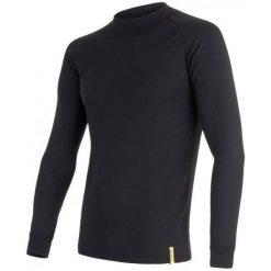Sensor Koszulka Termoaktywna Z Długim Rękawem Active M Black Xl. Czarne koszulki turystyczne męskie Sensor, m. W wyprzedaży za 79,00 zł.