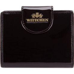 Portfel 25-1-362-1. Czarne portfele damskie Wittchen. Za 319,00 zł.
