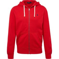Bluzy męskie: Polo Ralph Lauren - Męska bluza rozpinana, czerwony