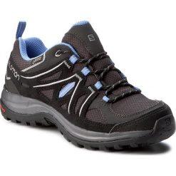 Trekkingi SALOMON - Ellipse 2 Gtx W GORE-TEX 381629 20 M0 Asphalt/Black/Petunia Blue. Szare buty trekkingowe damskie Salomon. W wyprzedaży za 369,00 zł.