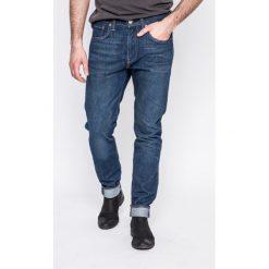 Levi's - Jeansy 512. Brązowe jeansy męskie slim Levi's®, z aplikacjami, z bawełny. W wyprzedaży za 219,90 zł.