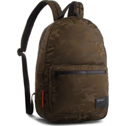 Plecak DIESEL - F-Discover Back X04812 P1598 T7434 Olive Night. Zielone plecaki męskie Diesel, z materiału. Za 409,00 zł.