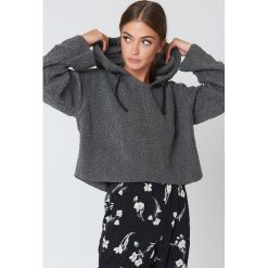 Bluzy damskie: Native Youth Bluza z kapturem Sherpa - Grey