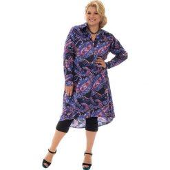 Sukienki balowe: Sukienka w kolorze fioletowo-różowo-niebieskim