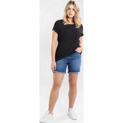T-shirty damskie: Ragwear Plus MINT DOTS PLUS Tshirt z nadrukiem black