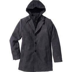"""Płaszcze przejściowe męskie: Płaszcz """"Slim fit"""" bonprix antracytowy melanż"""
