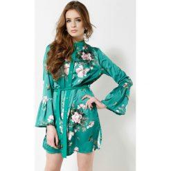 Sukienki: Zielona Sukienka Scientist