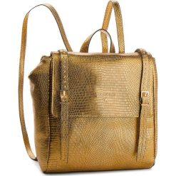 Plecak PATRIZIA PEPE - 2V8184/A4H1-Y342 Dark Gold. Czarne plecaki damskie marki Patrizia Pepe, ze skóry. W wyprzedaży za 1249,00 zł.