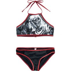 Iron Maiden EMP Signature Collection Bikini czarny. Czarne bikini Iron Maiden, w koronkowe wzory. Za 74,90 zł.