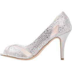 Szpilki: Paradox London Pink CATRINA Szpilki Peep Toe silver