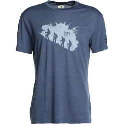 Koszulki polo: super.natural GRAPHIC TEE Tshirt z nadrukiem dark avio