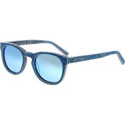 """Okulary przeciwsłoneczne męskie: Okulary męskie """"North Shore"""" w kolorze niebieskim"""
