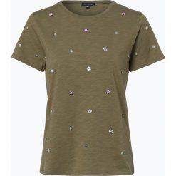Franco Callegari - T-shirt damski, zielony. Zielone t-shirty damskie marki Franco Callegari, z napisami. Za 59,95 zł.