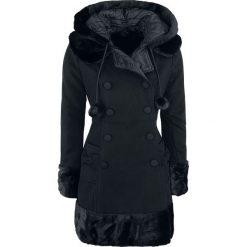 Hell Bunny Sarah Jane Coat Płaszcz damski czarny. Szare płaszcze damskie z futerkiem marki bonprix. Za 527,90 zł.