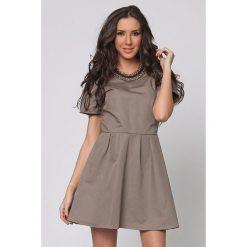 Odzież damska: Sukienka Joins w kolorze taupe