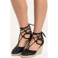Rzymianki damskie: Czarne Sandały Catalina