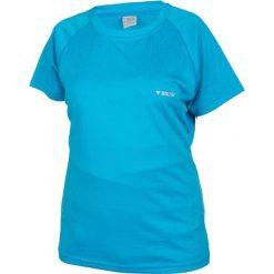 Brugi Koszulka damska T-SHIRT 2HJL 842-BLUETTE niebieska r. XL. Szare topy sportowe damskie marki Brugi, m. Za 30,45 zł.