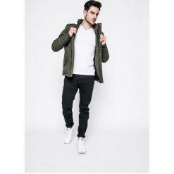 G-Star Raw - Jeansy. Czarne jeansy męskie slim marki G-Star RAW, z bawełny. W wyprzedaży za 289,90 zł.