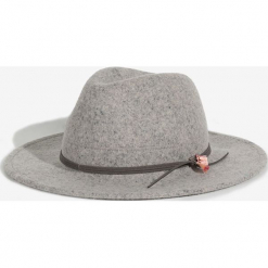 Parfois - Kapelusz. Szare kapelusze damskie Parfois, z wełny. Za 79,90 zł.