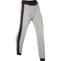 Spodnie dresowe damskie: Spodnie dresowe, długie bonprix jasnoszary melanż
