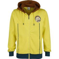 Rick And Morty Morty - Cosplay Bluza z kapturem rozpinana wielokolorowy. Żółte bluzy męskie rozpinane Rick And Morty, m, z aplikacjami, z materiału, z kapturem. Za 184,90 zł.