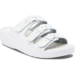 Klapki damskie: Klapki SANITAL-FLEX - KF-03 Biały