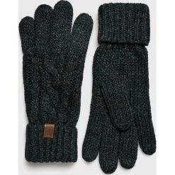 Barts - Rękawiczki. Czarne rękawiczki męskie marki Barts, z dzianiny. W wyprzedaży za 99,90 zł.
